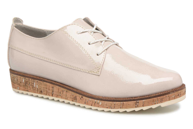 Chaussures à lacets Marco Tozzi Aroga Gris vue détail/paire