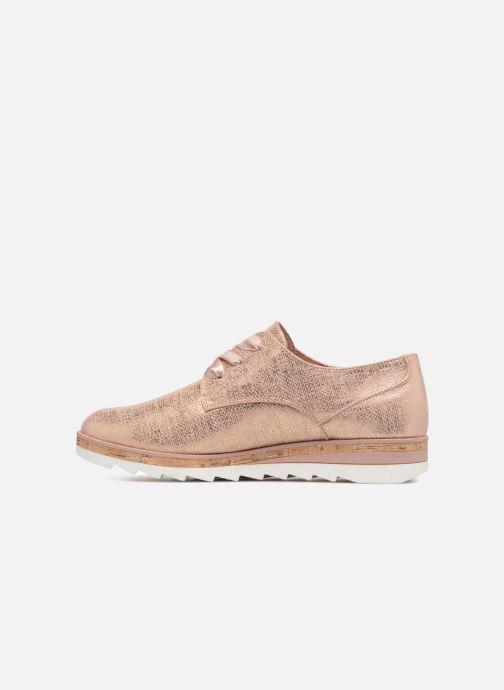 Chaussures à lacets Marco Tozzi Robol Rose vue face