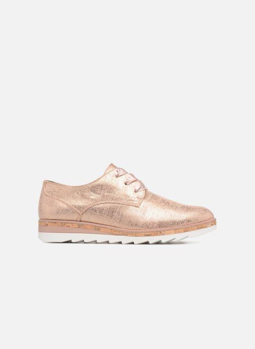 Chaussures à lacets Marco Tozzi Robol Rose vue derrière