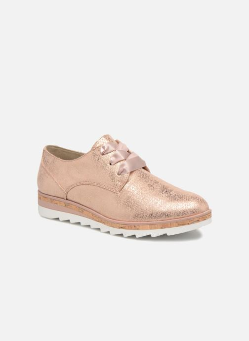 Chaussures à lacets Marco Tozzi Robol Rose vue détail/paire