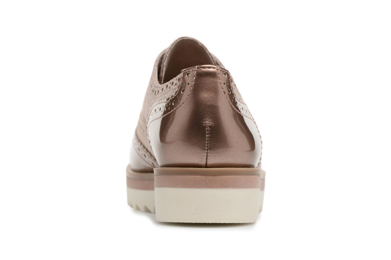 Chaussures à lacets Marco Tozzi Fomil Rose vue droite