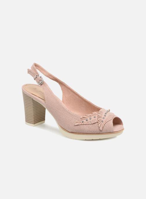 2922b4560f3c Høje hæle Marco Tozzi Joven Pink detaljeret billede af skoene