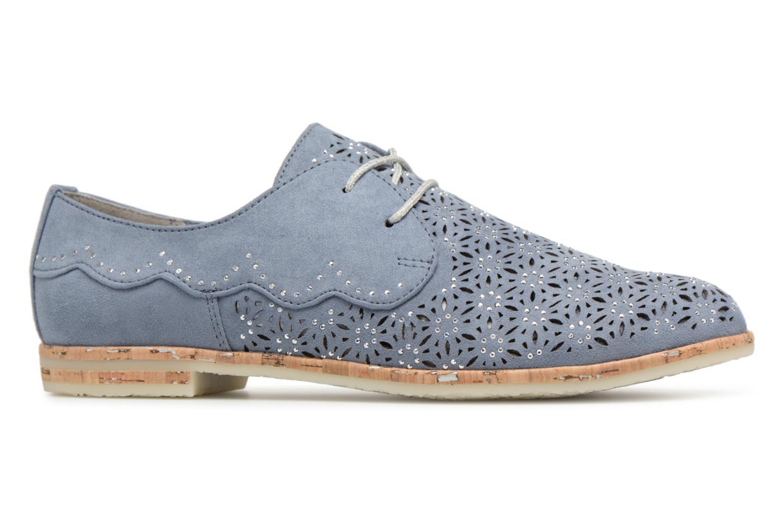 Chaussures à lacets Marco Tozzi Bellu Bleu vue derrière