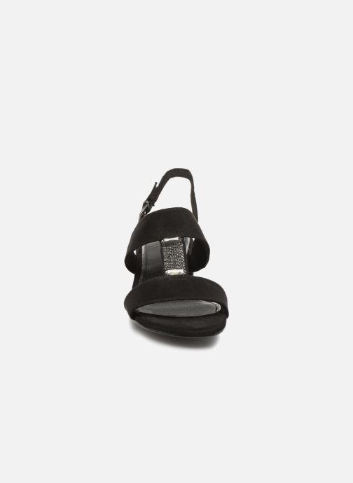 Sandalen Marco Tozzi Nyla 2 schwarz schuhe getragen