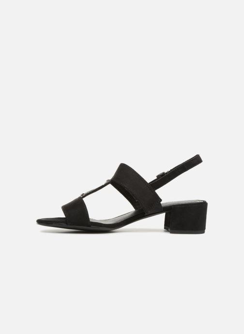 Sandalen Marco Tozzi Nyla 2 schwarz ansicht von vorne