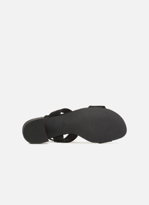Sandalen Marco Tozzi Nyla 2 schwarz ansicht von oben