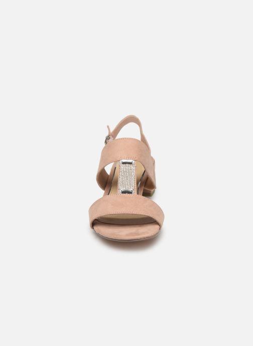 Sandali e scarpe aperte Marco Tozzi Nyla 2 Beige modello indossato