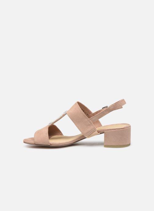 Sandales et nu-pieds Marco Tozzi Nyla 2 Beige vue face