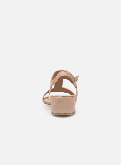 Sandali e scarpe aperte Marco Tozzi Nyla 2 Beige immagine dall'alto