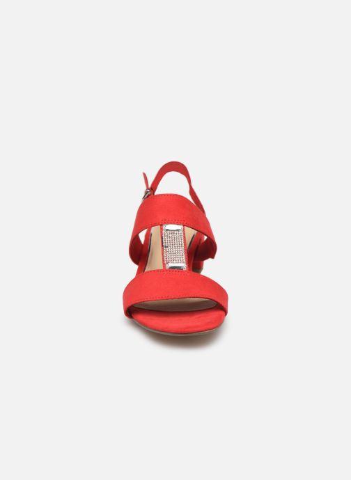 Sandales et nu-pieds Marco Tozzi Nyla 2 Rouge vue portées chaussures
