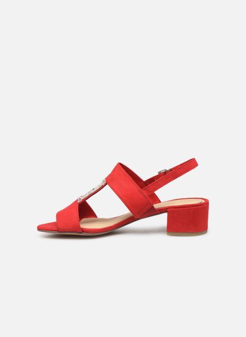 Sandales et nu-pieds Marco Tozzi Nyla 2 Rouge vue face