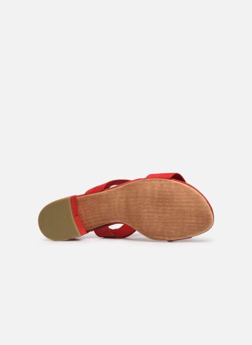 Sandales et nu-pieds Marco Tozzi Nyla 2 Rouge vue haut