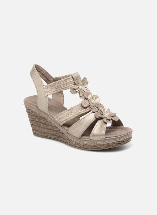 Sandales et nu-pieds Marco Tozzi Blaja Gris vue détail/paire