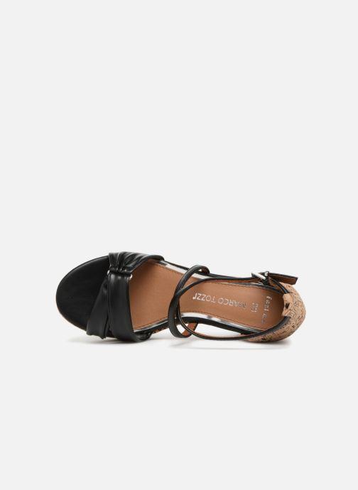 Sandali e scarpe aperte Marco Tozzi Tizaz Nero immagine sinistra