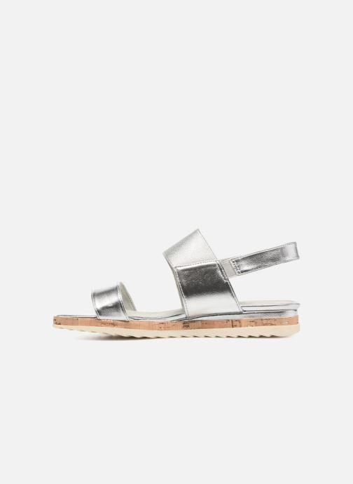 Sandales et nu-pieds Marco Tozzi Ledio Argent vue face