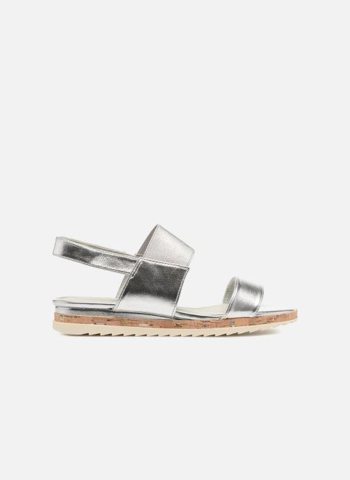 Sandales et nu-pieds Marco Tozzi Ledio Argent vue derrière