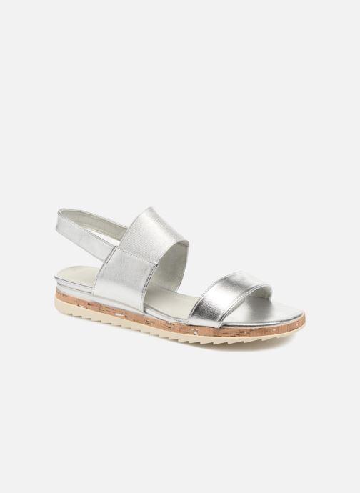 Sandales et nu-pieds Marco Tozzi Ledio Argent vue détail/paire