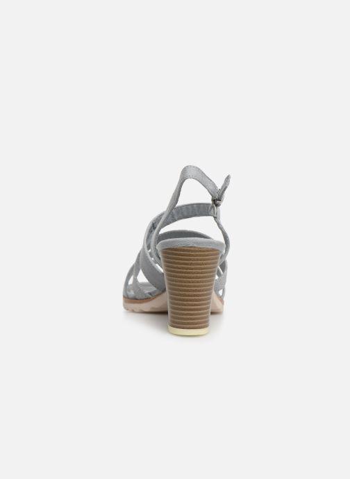 Sandales et nu-pieds Marco Tozzi Inaki Gris vue droite