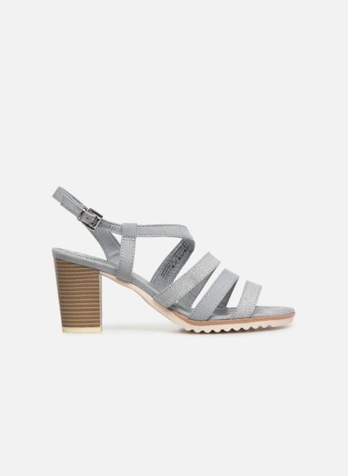 Sandales et nu-pieds Marco Tozzi Inaki Gris vue derrière