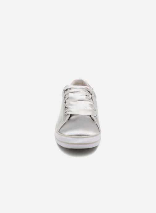 Baskets Marco Tozzi Biagg Gris vue portées chaussures
