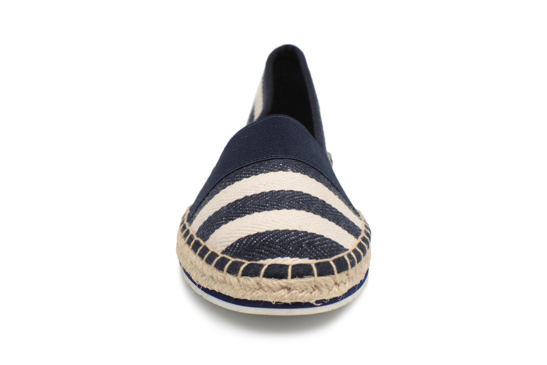 Espadrilles Marco Tozzi Kifif Bleu vue portées chaussures