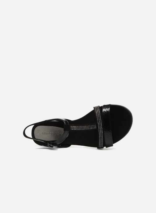 Sandali e scarpe aperte Marco Tozzi Peklu Nero immagine sinistra