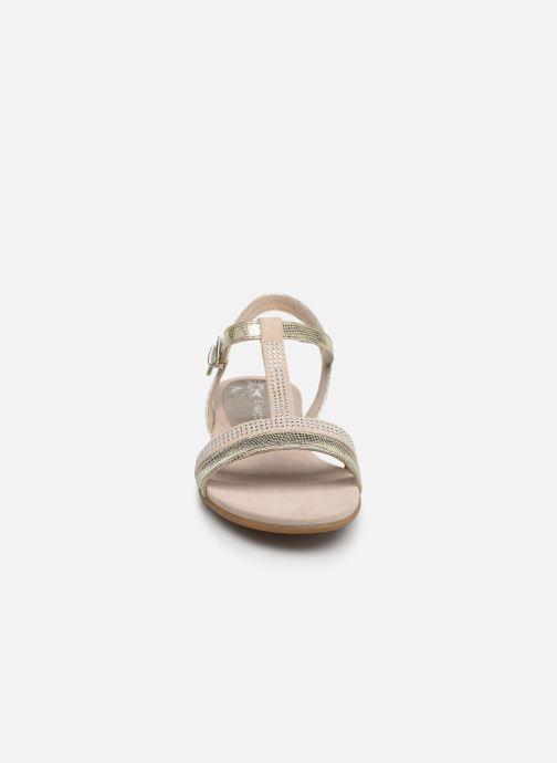 Sandales et nu-pieds Marco Tozzi Peklu Or et bronze vue portées chaussures