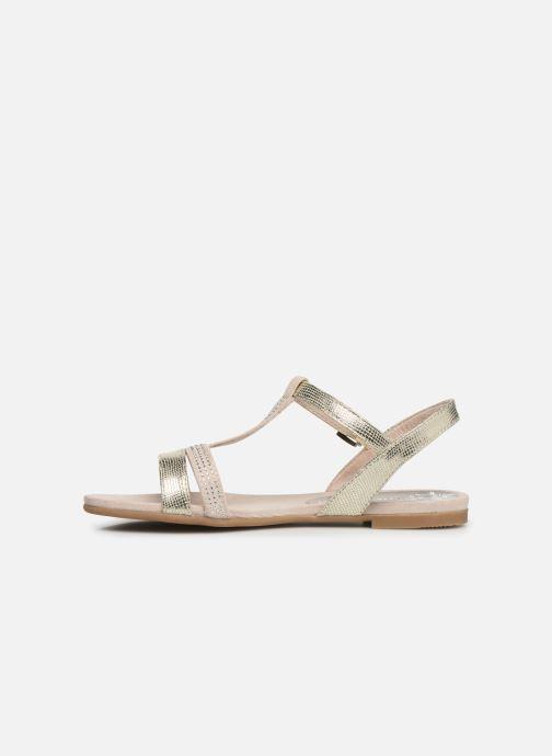 Sandales et nu-pieds Marco Tozzi Peklu Or et bronze vue face