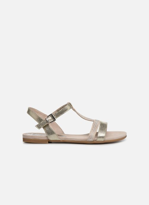 Sandals Marco Tozzi Peklu Bronze and Gold back view