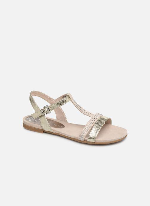 Sandales et nu-pieds Marco Tozzi Peklu Or et bronze vue détail/paire
