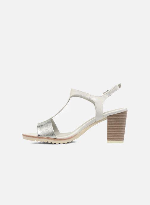 Sandales et nu-pieds Marco Tozzi Colas Blanc vue face