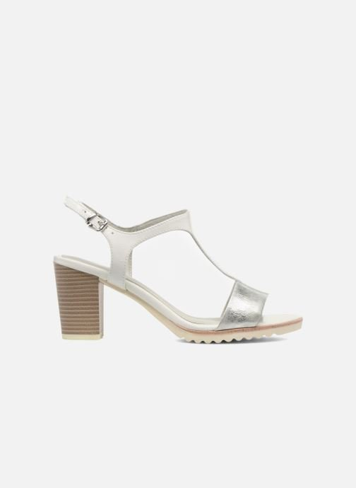 Sandals Marco Tozzi Colas White back view