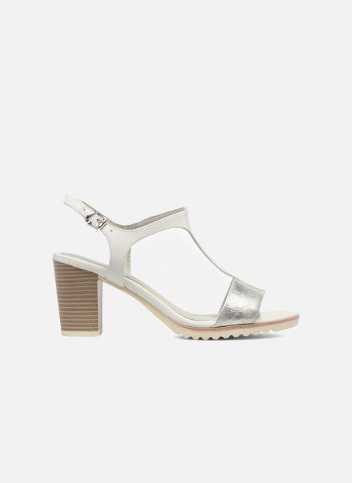 Sandales et nu-pieds Marco Tozzi Colas Blanc vue derrière