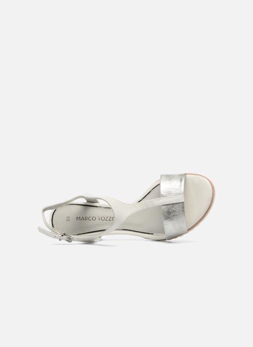 Sandales et nu-pieds Marco Tozzi Colas Blanc vue gauche