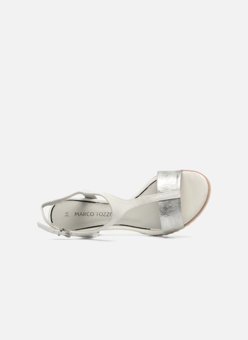 Sandals Marco Tozzi Colas White view from the left