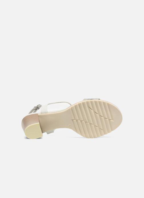 Sandali e scarpe aperte Marco Tozzi Colas Bianco immagine dall'alto