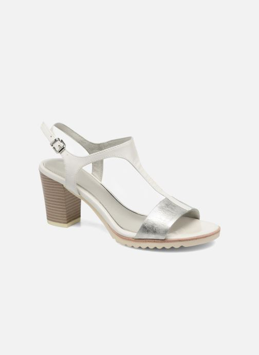 Sandals Marco Tozzi Colas White detailed view/ Pair view