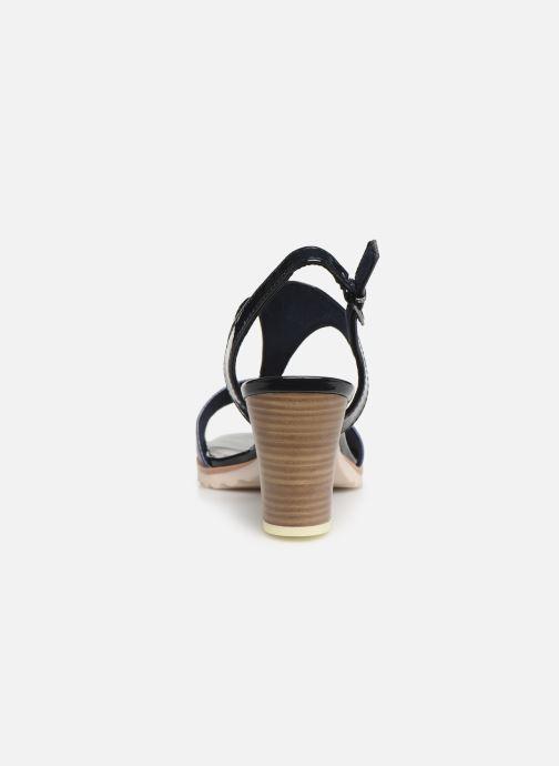 Sandales et nu-pieds Marco Tozzi Colas Bleu vue droite