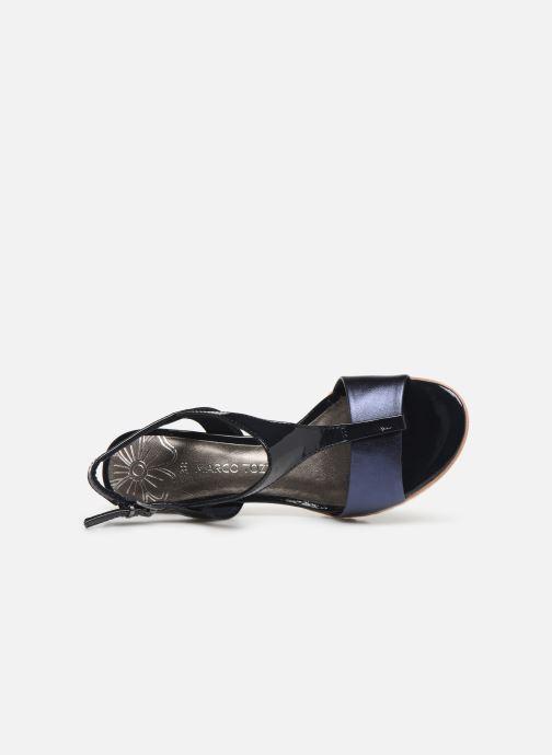 Sandales et nu-pieds Marco Tozzi Colas Bleu vue gauche
