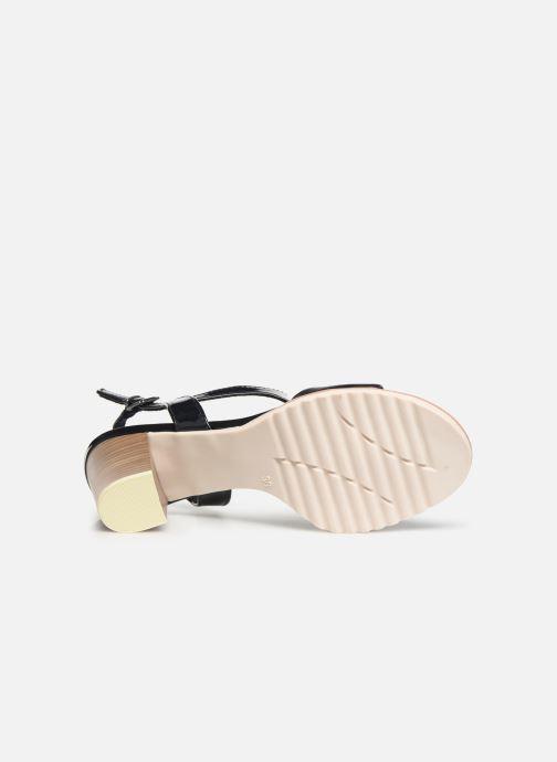 Sandales et nu-pieds Marco Tozzi Colas Bleu vue haut
