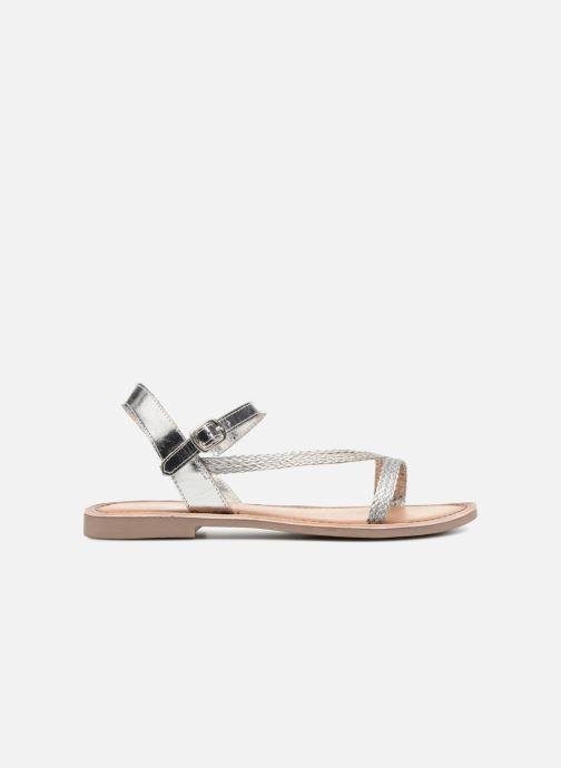 Sandales et nu-pieds Marco Tozzi Gipra Argent vue derrière