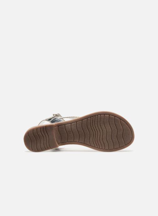 Sandales et nu-pieds Marco Tozzi Gipra Argent vue haut