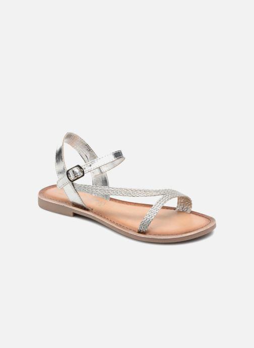 Sandales et nu-pieds Marco Tozzi Gipra Argent vue détail/paire