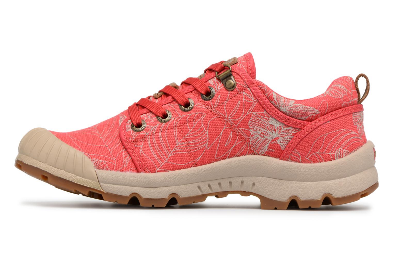 Chaussures de sport Aigle Tenere Light Low W CVS Print Rose vue face