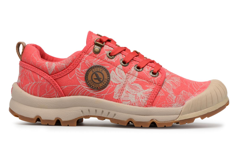 Chaussures de sport Aigle Tenere Light Low W CVS Print Rose vue derrière