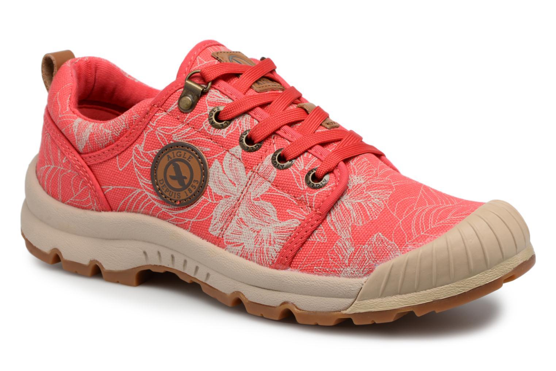 Chaussures de sport Aigle Tenere Light Low W CVS Print Rose vue détail/paire