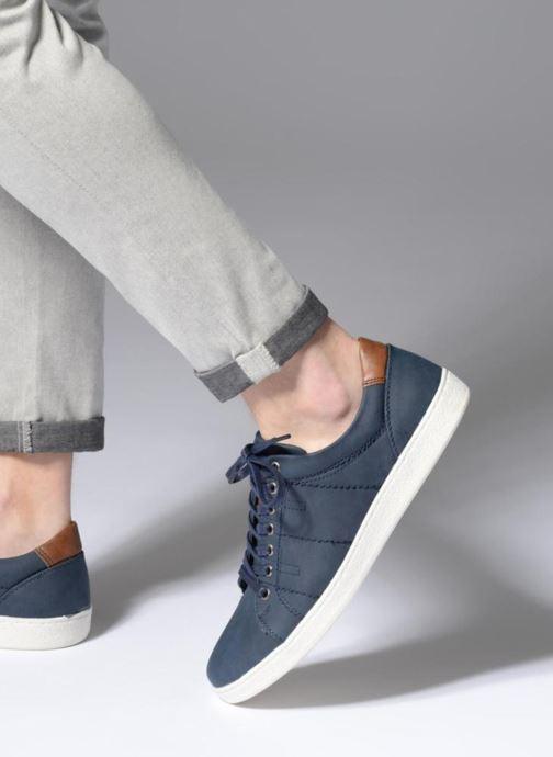 Deportivas I Love Shoes KEBARA Azul vista de abajo