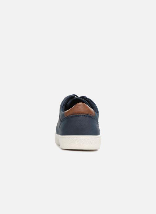 Deportivas I Love Shoes KEBARA Azul vista lateral derecha