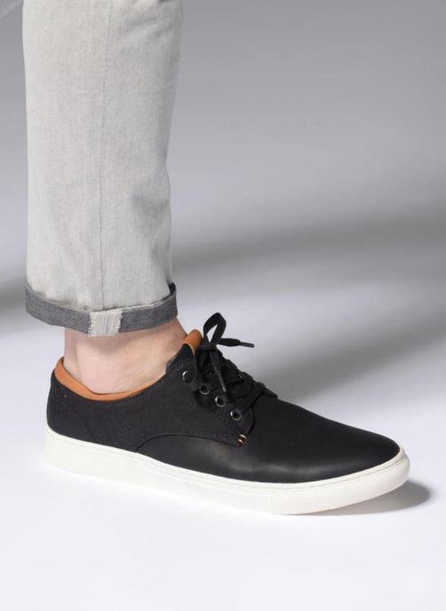 Sneaker I Love Shoes KENIGH schwarz ansicht von unten / tasche getragen