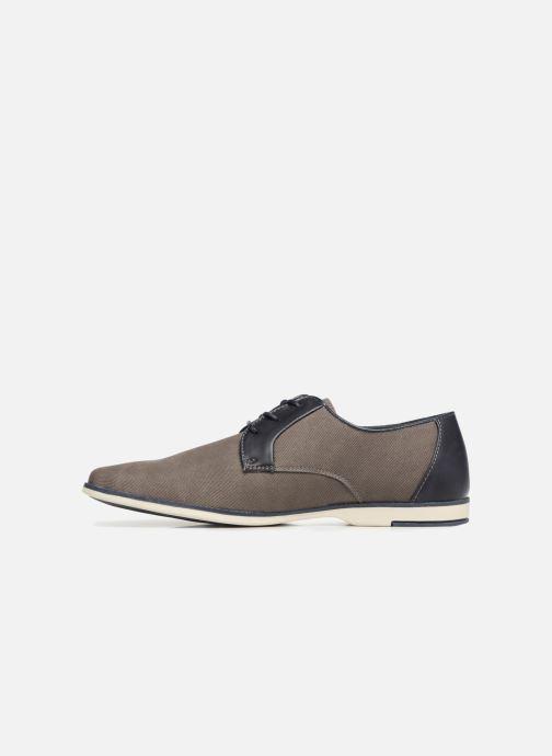 Scarpe con lacci I Love Shoes KEMO Grigio immagine frontale